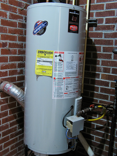 Bradford White 50 gallon water heater repaired in San Jose